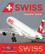 Just Planes DVD - Swiss A330-300