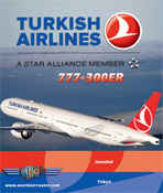 Just Planes DVD - Turkish Airlines 777-300ER