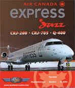 Just Planes DVD - Air Canada Express Jazz