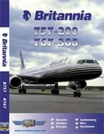 Just Planes DVD - Britannia 757 & 767