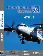 Just Planes DVD - Continental Express ATR42
