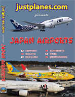 Just Planes DVD - Japan Airports