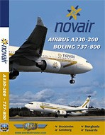 Just Planes DVD - Novair A330-200 & B737-800