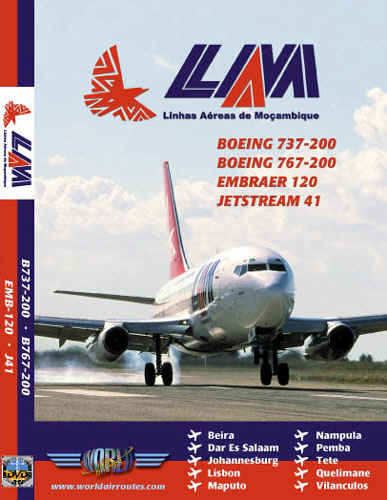 Just Planes DVD - LAM Mozambique