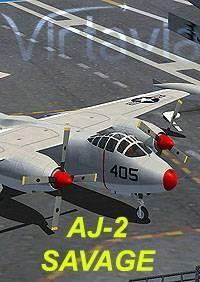 AJ-2 Savage for FSX
