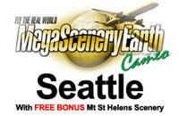 MegaSceneryEarth Seattle & FREE Bonus Mt St Helens