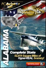MegaSceneryEarth 2.0 - Alabama Complete State