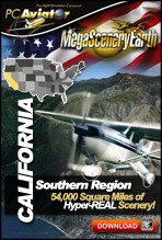 MegaSceneryEarth 2.0 - California State - SOUTH