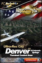 MegaSceneryEarth 2.0 - Ultra-Res Cities - Denver