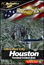 MegaSceneryEarth 2.0 - Ultra-Res Cities - Houston