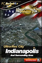 MegaSceneryEarth 2.0 - Ultra-Res Cities - Indianapolis