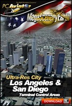 MegaSceneryEarth 2.0 - Ultra-Res Cities - Los Angeles & San Diego