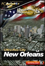 MegaSceneryEarth 2.0 - Ultra-Res Cities - New Orleans