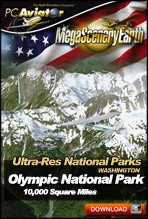 MegaSceneryEarth 2.0 Ultra-Res National Parks - Olympic Mountains