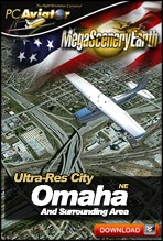 MegaSceneryEarth 2.0 - Ultra-Res Cities - Omaha