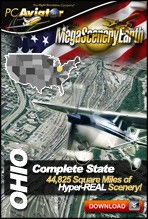 MegaSceneryEarth 2.0 - Ohio Complete State