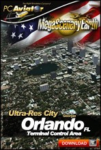 MegaSceneryEarth 2.0 - Ultra-Res Cities - Orlando