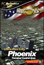 MegaSceneryEarth 2.0 - Ultra-Res Cities - Phoenix
