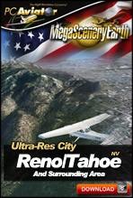 MegaSceneryEarth 2.0 - Ultra-Res Cities - Reno/Tahoe