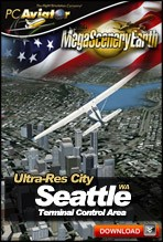 MegaSceneryEarth 2.0 - Ultra-Res Cities - Seattle