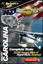MegaSceneryEarth 2.0 - South Carolina Complete State