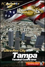 MegaSceneryEarth 2.0 - Ultra-Res Cities - Tampa