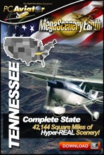 MegaSceneryEarth 2.0 - Tennessee Complete State