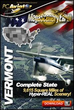 MegaSceneryEarth 2.0 - Vermont Complete State