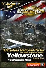 MegaSceneryEarth 2.0 Ultra-Res National Parks - Yellowstone