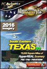MegaSceneryEarth 3 - Texas South East (FSX/FSX:SE/P3Dv1-v4)