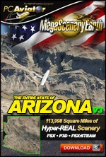 MegaSceneryEarth 3 - Arizona
