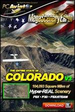 MegaSceneryEarth 3 - Colorado