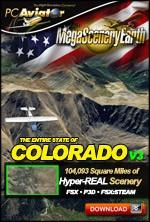MegaSceneryEarth 3 - Colorado (FSX/FSX:SE/P3Dv1-v4)