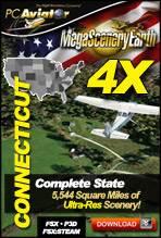 MegaSceneryEarth 4X - Connecticut