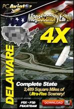 MegaSceneryEarth 4X - Delaware