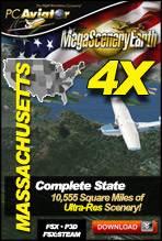 MegaSceneryEarth 4X - Massachusetts