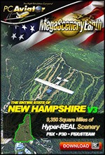 MegaSceneryEarth 3 - New Hampshire (FSX/FSX:SE/P3Dv1-v4)