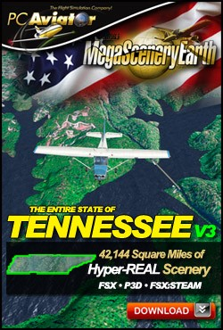 MegaSceneryEarth 3 - Tennessee