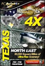 MegaSceneryEarth 4X - Texas (North East)