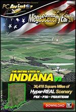 MegaSceneryEarth 3 - Indiana (FSX/FSX:SE/P3Dv1-v4)