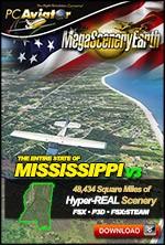 MegaSceneryEarth 3 - Mississippi