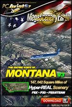 MegaSceneryEarth 3 - Montana (FSX/FSX:SE/P3Dv1-v4)