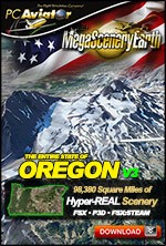 MegaSceneryEarth 3 - Oregon
