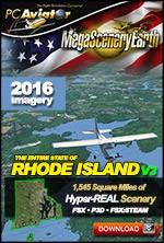 MegaSceneryEarth 3 - Rhode Island (FSX/FSX:SE/P3Dv1-v4)
