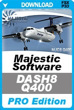 Majestic Software Dash 8 Q400 Pro Edition (FSX/FSX:SE/P3Dv2-v3)