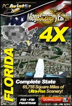 MegaSceneryEarth 4X - Florida Complete State