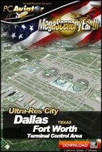 MegaSceneryEarth 2.0 - Ultra-Res Cities - Dallas/Fort Worth