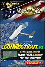MegaSceneryEarth 3 - Connecticut (FSX/FSX:SE/P3Dv1-v4)