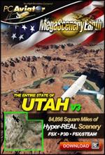 MegaSceneryEarth 3 - Utah (FSX/FSX:SE/P3Dv1-v4)