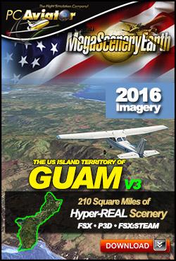 MegaSceneryEarth 3 - Guam (FSX/FSX:SE/P3Dv1-v4)